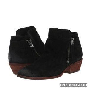 Sam edelman packer black booties 6.5